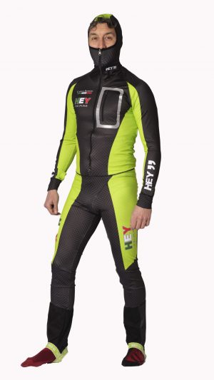 Tuta ski alp verde Ccapp hey team (2)